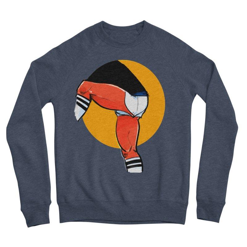 Laces Men's Sponge Fleece Sweatshirt by Ego Rodriguez
