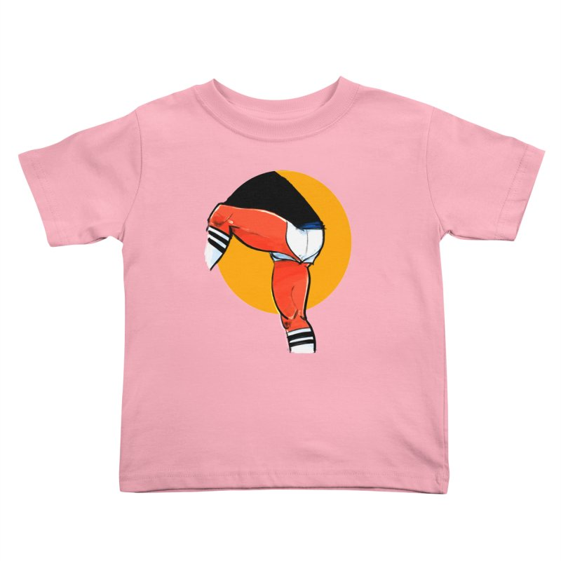 Laces Kids Toddler T-Shirt by Ego Rodriguez
