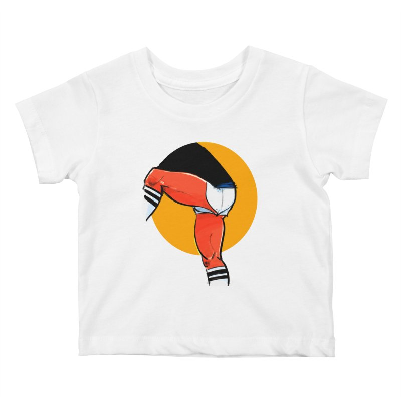 Laces Kids Baby T-Shirt by Ego Rodriguez