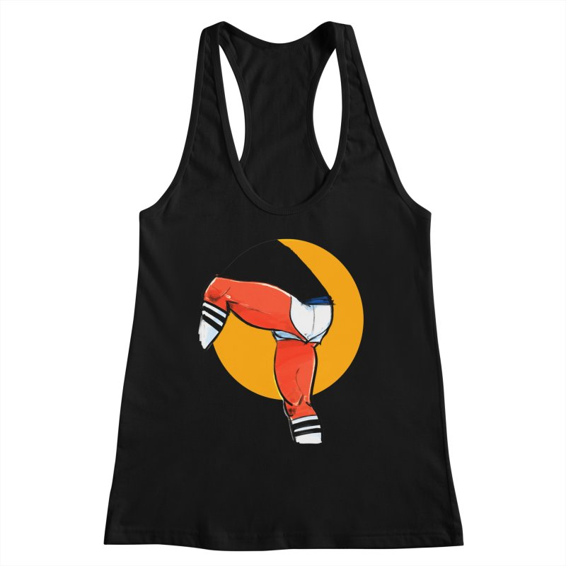 Laces Women's Racerback Tank by Ego Rodriguez