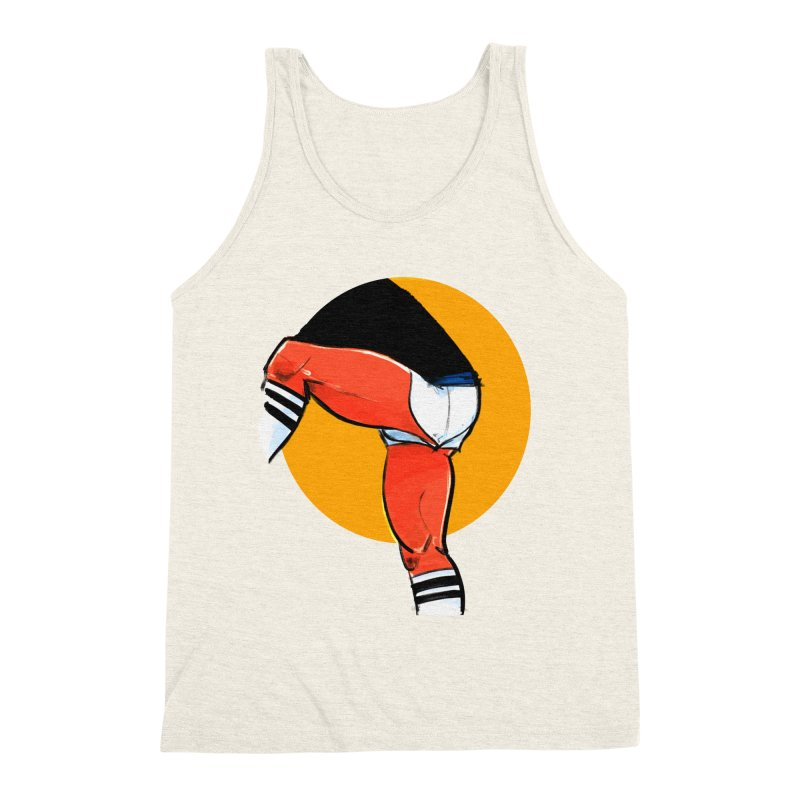 Laces Men's Triblend Tank by Ego Rodriguez