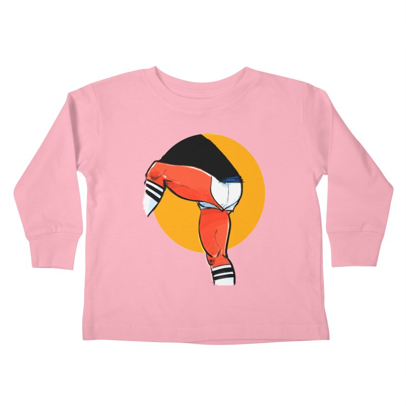 Laces Kids Toddler Longsleeve T-Shirt by Ego Rodriguez