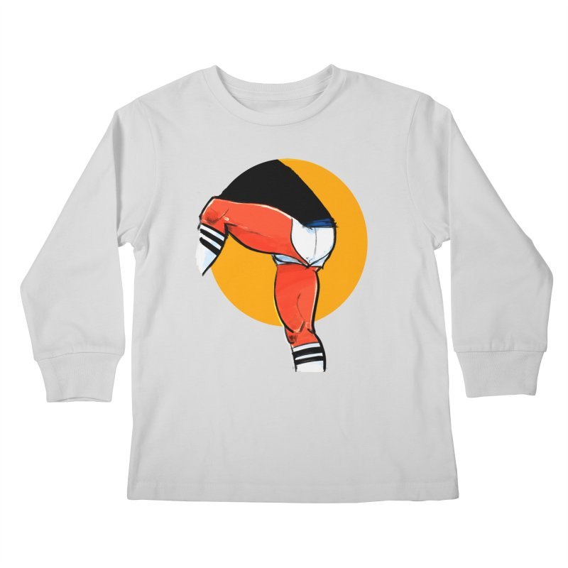 Laces Kids Longsleeve T-Shirt by Ego Rodriguez