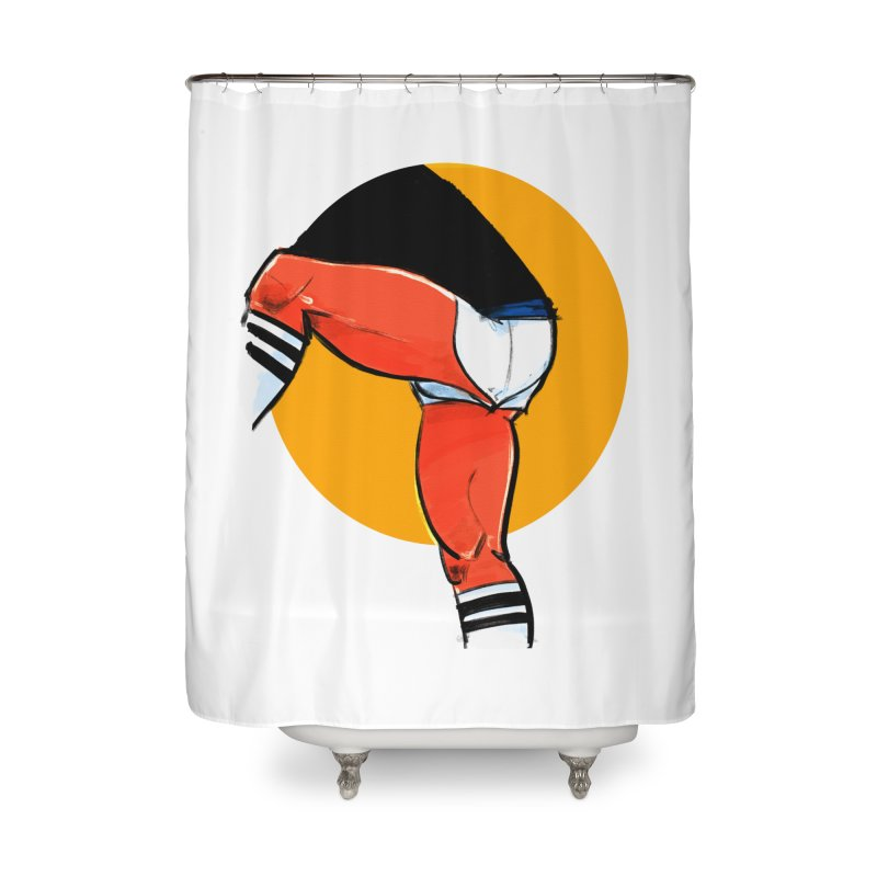Laces Home Shower Curtain by Ego Rodriguez