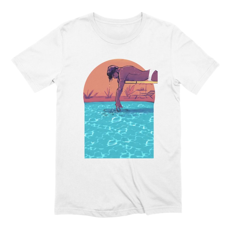 Narcissus in Men's Extra Soft T-Shirt White by Ego Rodriguez