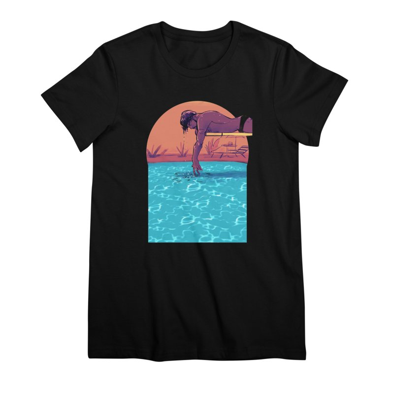 Narcissus Women's Premium T-Shirt by Ego Rodriguez