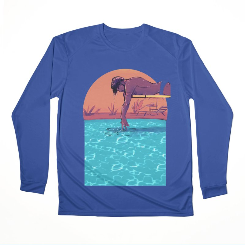 Narcissus Men's Performance Longsleeve T-Shirt by Ego Rodriguez