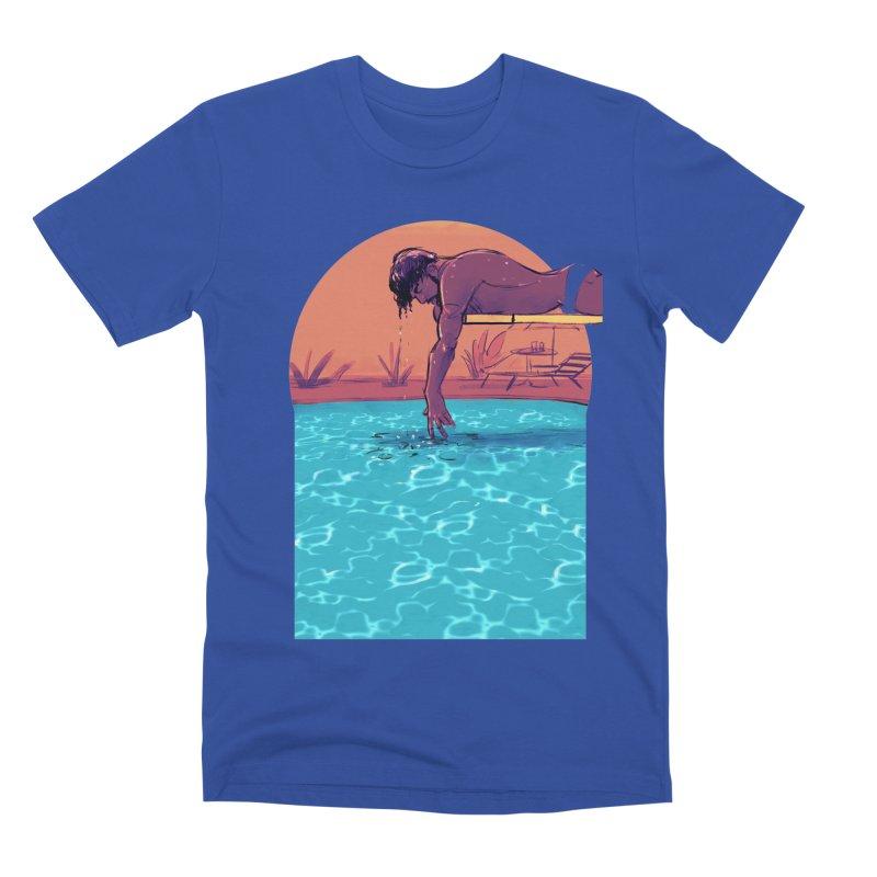 Narcissus Men's Premium T-Shirt by Ego Rodriguez