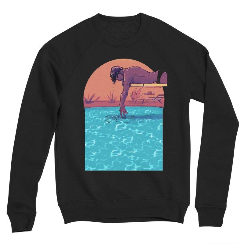 Narcissus Men's Sponge Fleece Sweatshirt by Ego Rodriguez