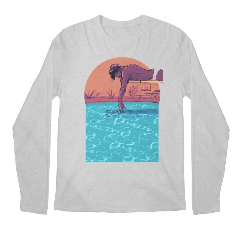 Narcissus Men's Regular Longsleeve T-Shirt by Ego Rodriguez