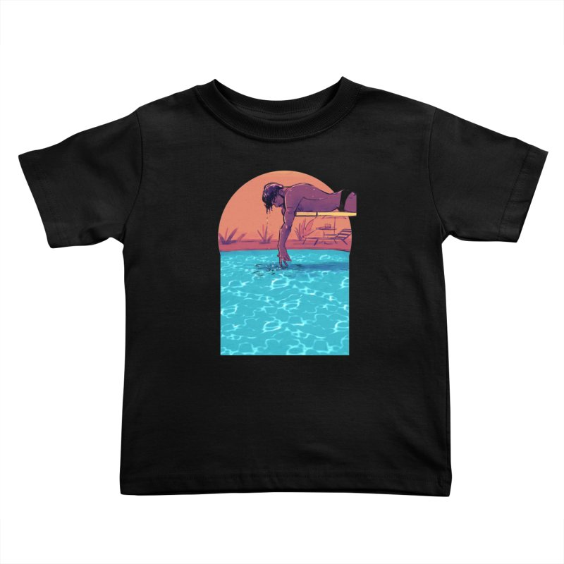 Narcissus Kids Toddler T-Shirt by Ego Rodriguez