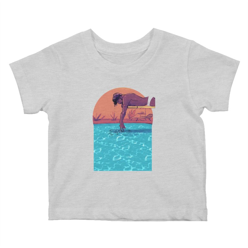 Narcissus Kids Baby T-Shirt by Ego Rodriguez
