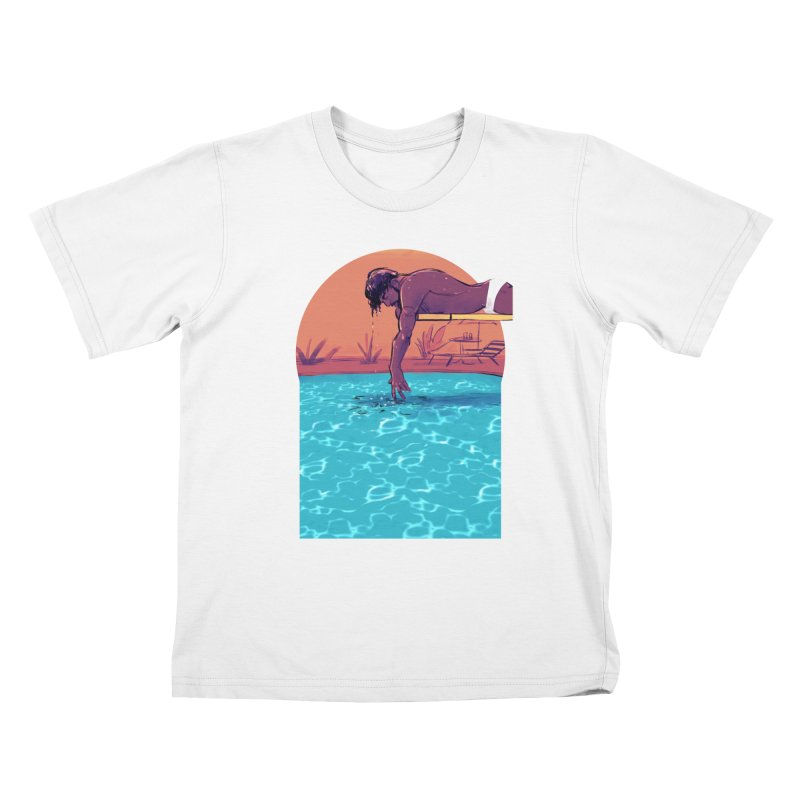 Narcissus Kids T-Shirt by Ego Rodriguez