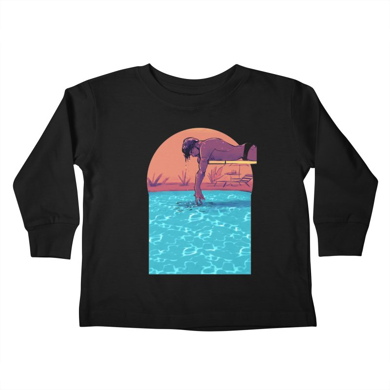 Narcissus Kids Toddler Longsleeve T-Shirt by Ego Rodriguez