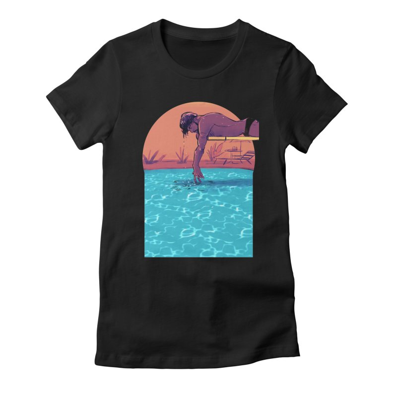 Narcissus Women's Fitted T-Shirt by Ego Rodriguez