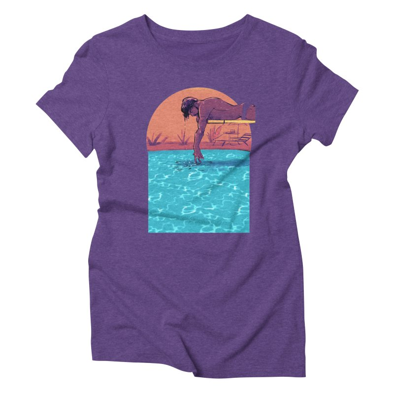 Narcissus Women's Triblend T-Shirt by Ego Rodriguez