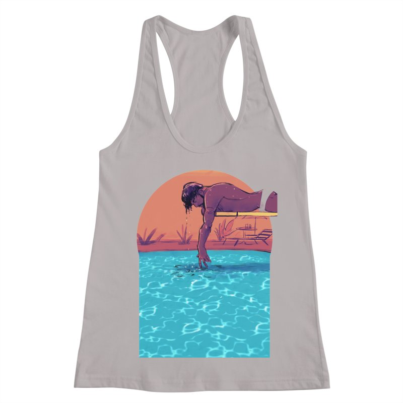 Narcissus Women's Racerback Tank by Ego Rodriguez