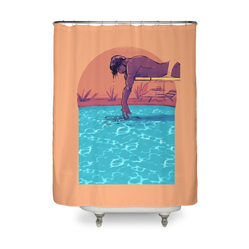 Narcissus Home Shower Curtain by Ego Rodriguez