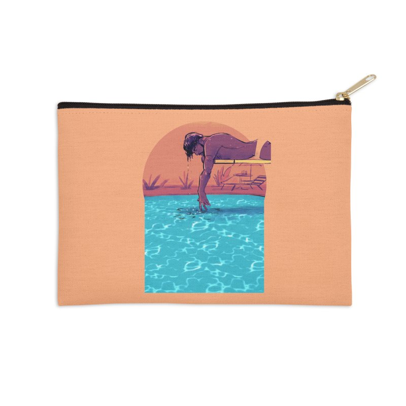 Narcissus Accessories Zip Pouch by Ego Rodriguez