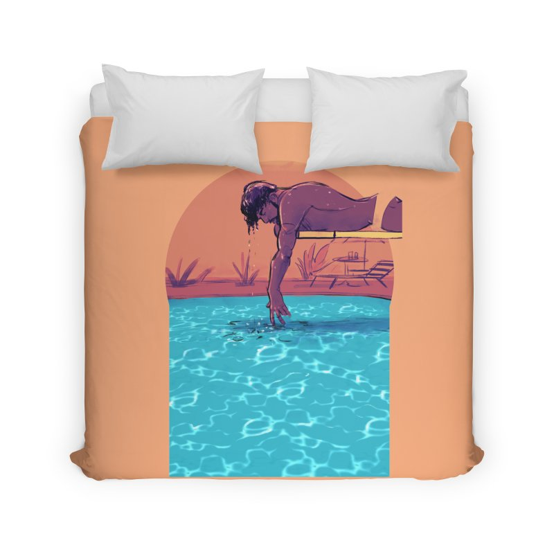 Narcissus Home Duvet by Ego Rodriguez