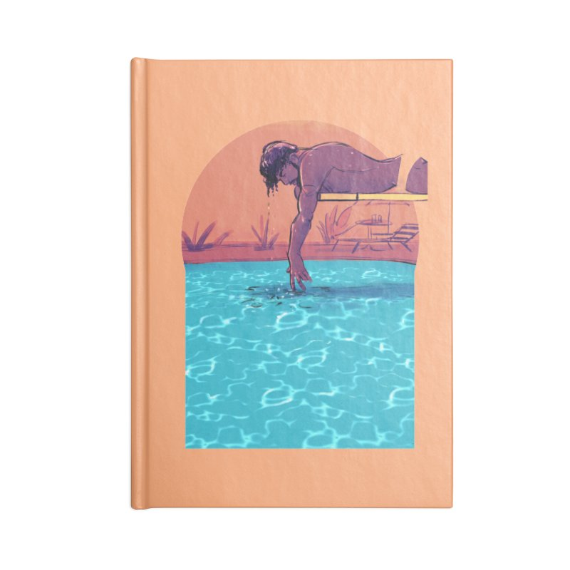 Narcissus Accessories Lined Journal Notebook by Ego Rodriguez