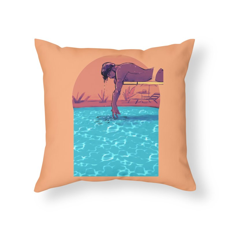Narcissus Home Throw Pillow by Ego Rodriguez