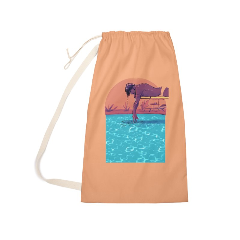 Narcissus Accessories Laundry Bag Bag by Ego Rodriguez