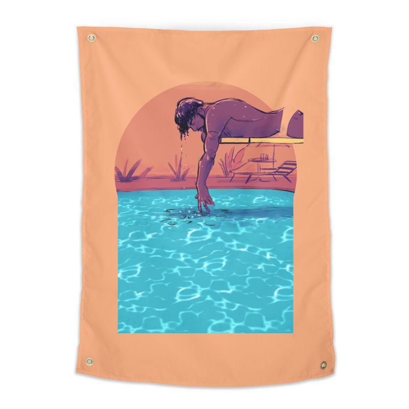 Narcissus Home Tapestry by Ego Rodriguez