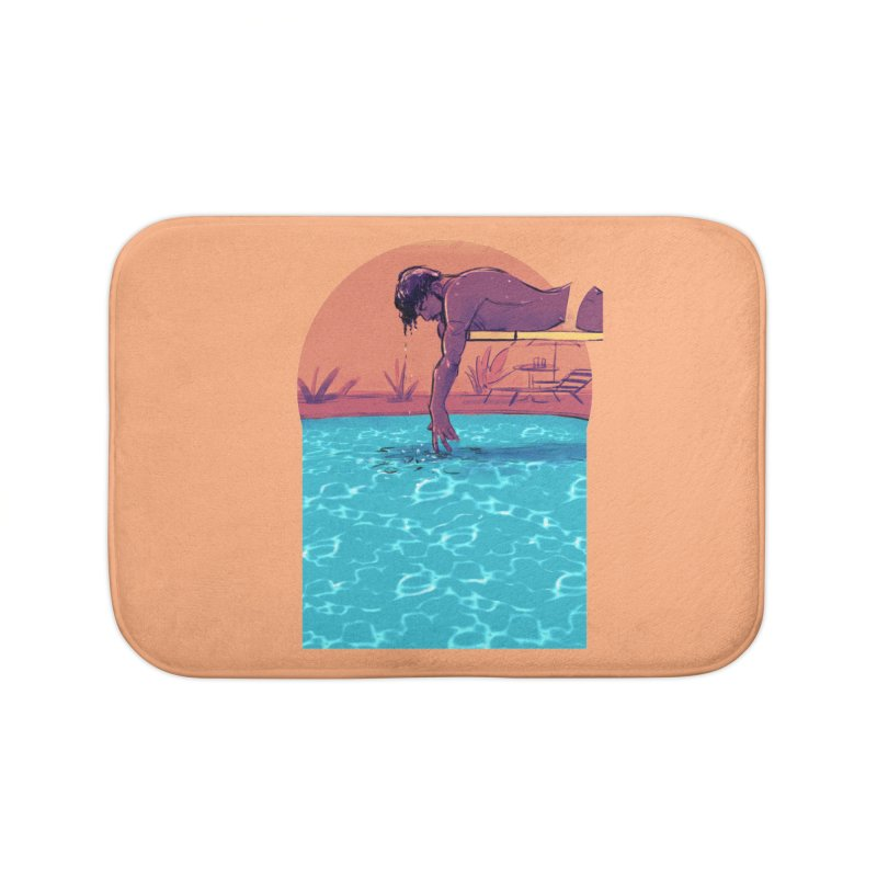 Narcissus Home Bath Mat by Ego Rodriguez