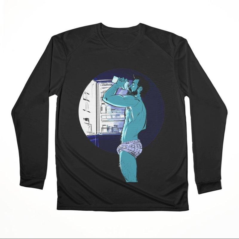 Thirst Men's Performance Longsleeve T-Shirt by Ego Rodriguez