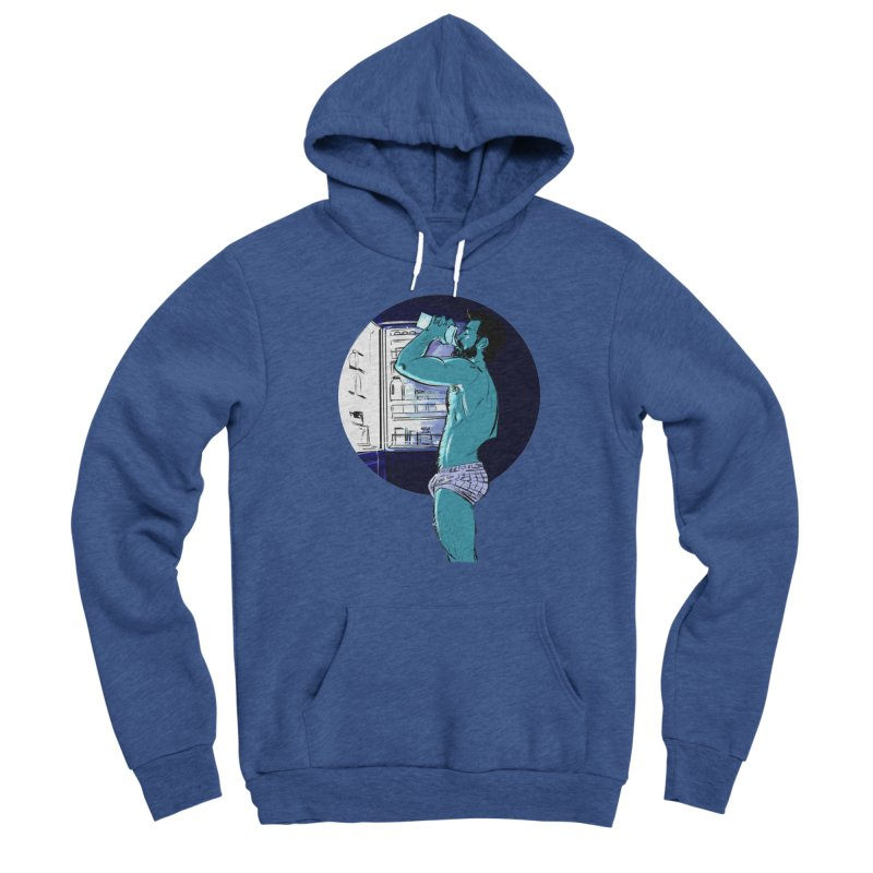 Thirst Men's Sponge Fleece Pullover Hoody by Ego Rodriguez