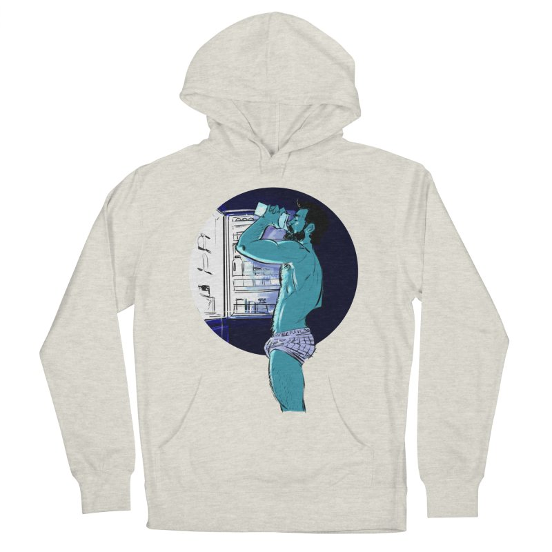 Thirst Men's French Terry Pullover Hoody by Ego Rodriguez