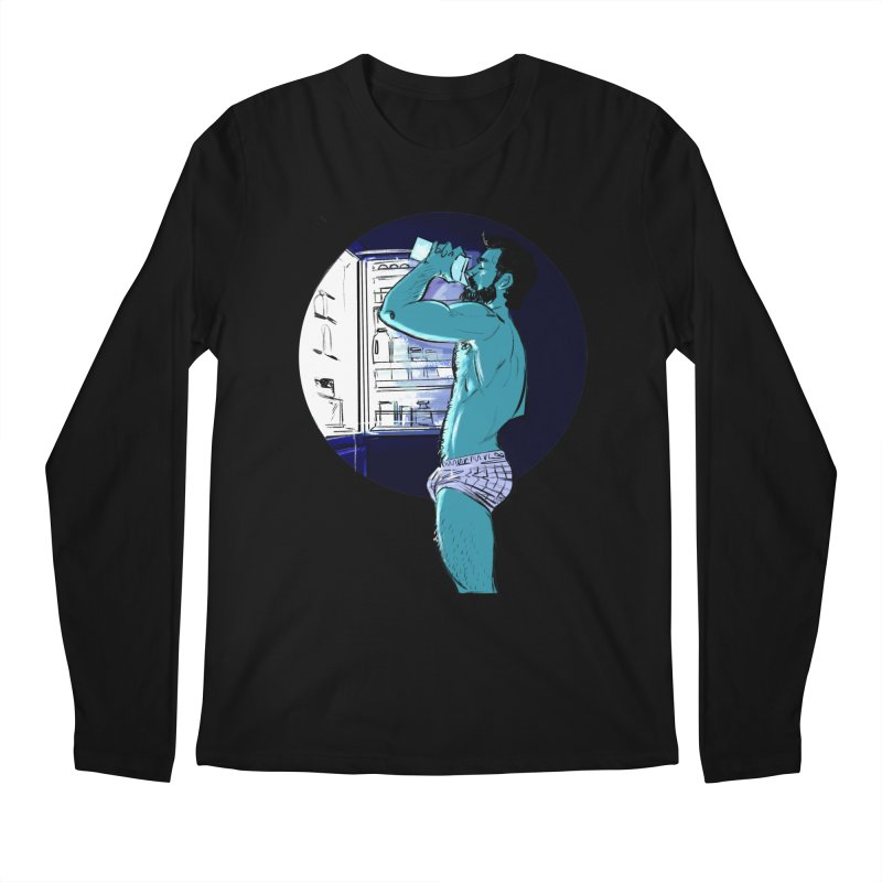 Thirst Men's Longsleeve T-Shirt by Ego Rodriguez