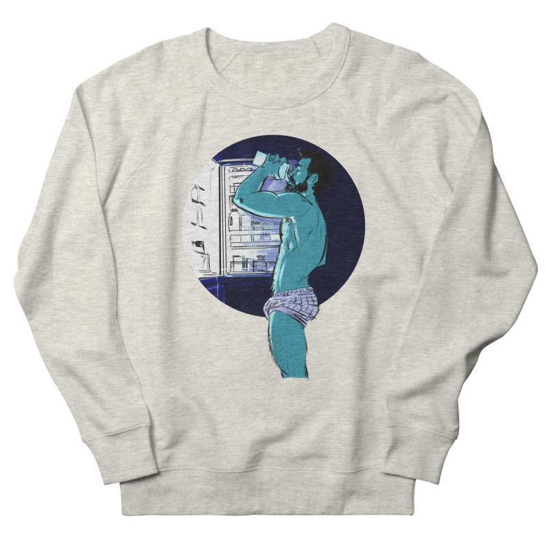 Thirst Men's French Terry Sweatshirt by Ego Rodriguez