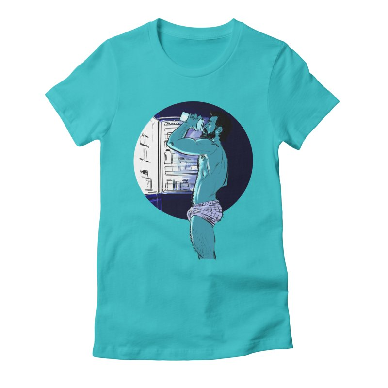 Thirst Women's Fitted T-Shirt by Ego Rodriguez