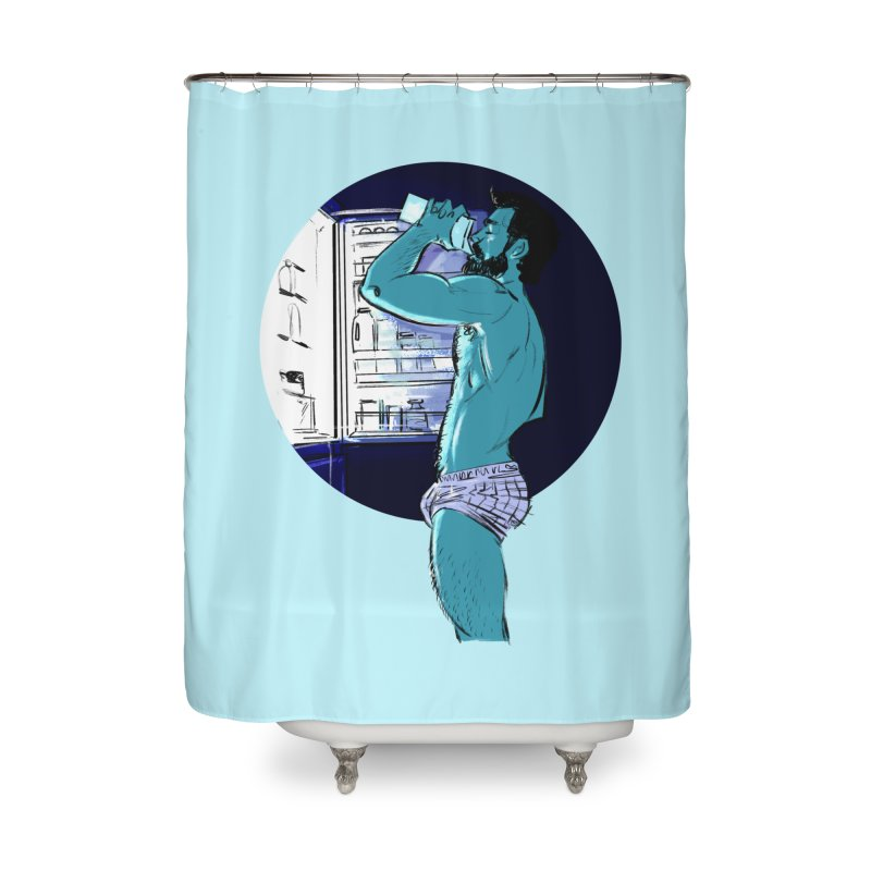 Thirst Home Shower Curtain by Ego Rodriguez