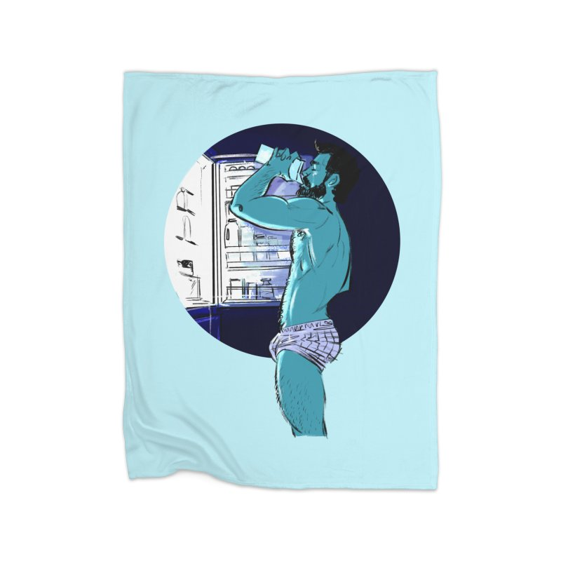 Thirst Home Fleece Blanket Blanket by Ego Rodriguez