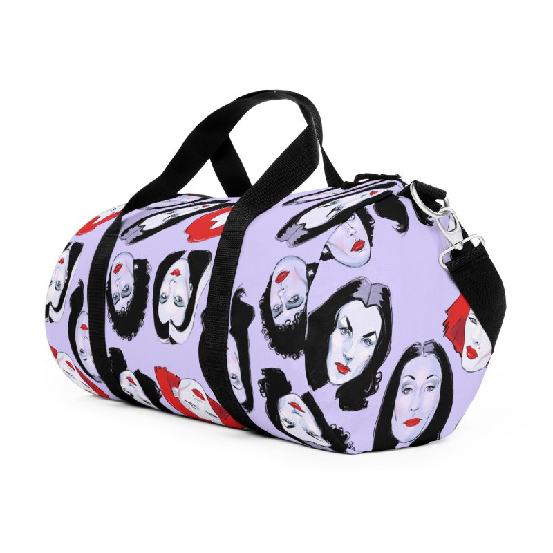 Heey Gouls! Accessories Duffel Bag Bag by Ego Rodriguez