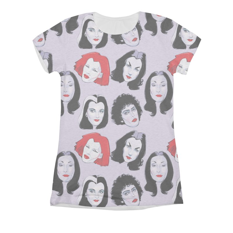 Heey Gouls! Women's Triblend All Over Print by Ego Rodriguez