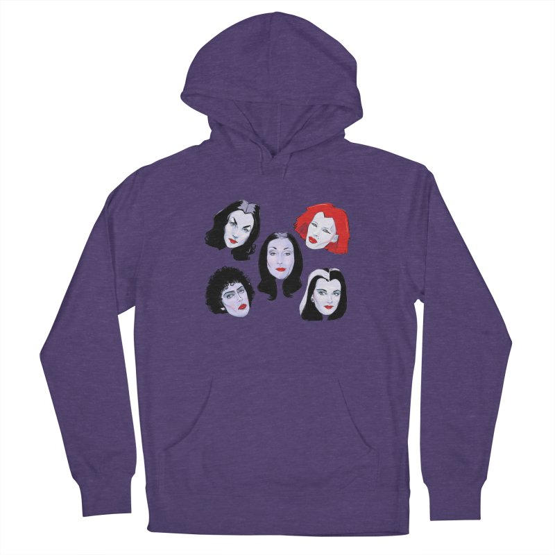 Heey Gouls! Women's French Terry Pullover Hoody by Ego Rodriguez