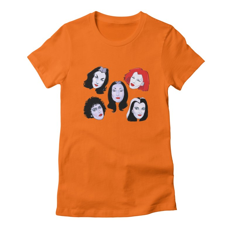 Heey Gouls! Women's Fitted T-Shirt by Ego Rodriguez