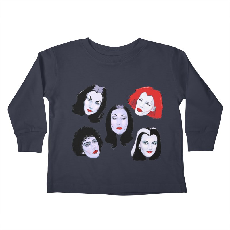 Heey Gouls! Kids Toddler Longsleeve T-Shirt by Ego Rodriguez