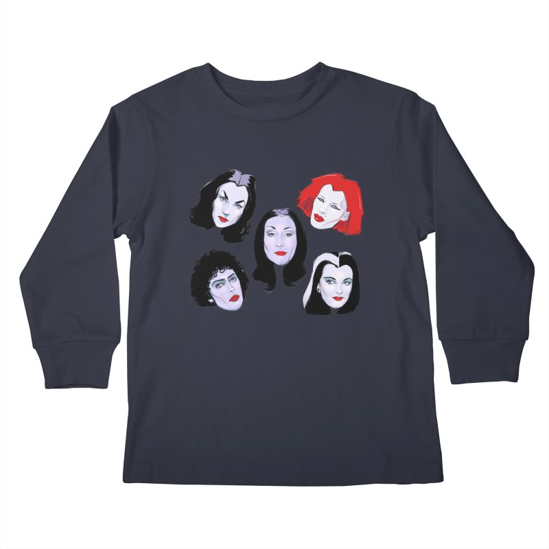 Heey Gouls! Kids Longsleeve T-Shirt by Ego Rodriguez