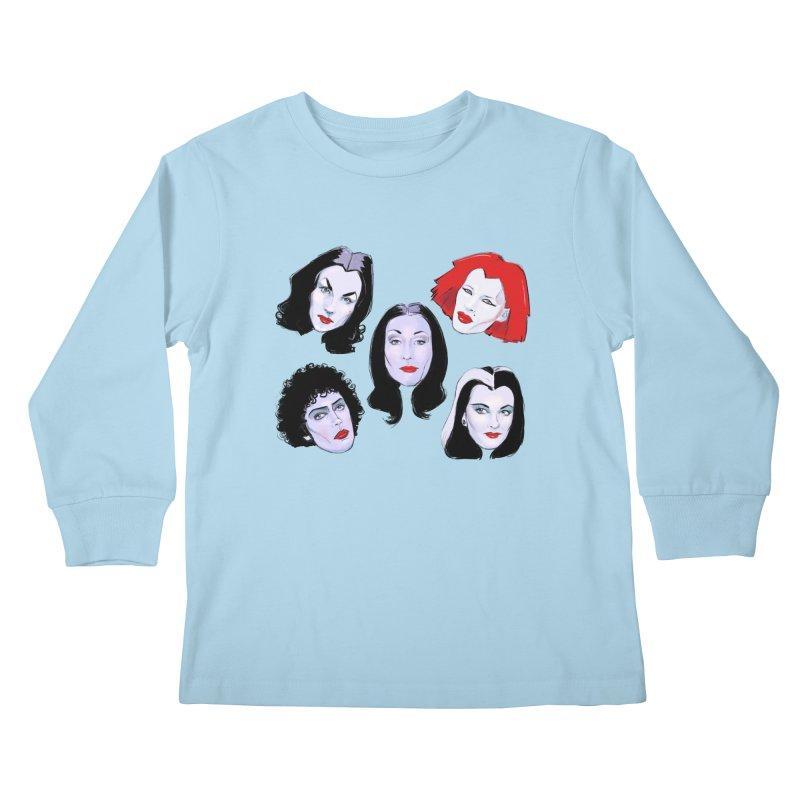 Heey Gouls! Kids Longsleeve T-Shirt by Ego Rodriguez