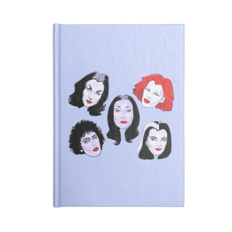 Heey Gouls! Accessories Lined Journal Notebook by Ego Rodriguez