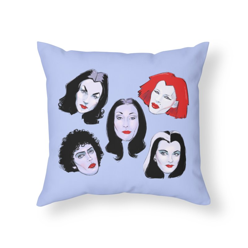 Heey Gouls! Home Throw Pillow by Ego Rodriguez
