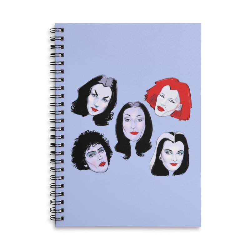 Heey Gouls! Accessories Lined Spiral Notebook by Ego Rodriguez