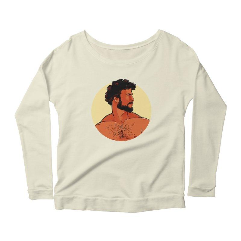 Frank Women's Scoop Neck Longsleeve T-Shirt by Ego Rodriguez