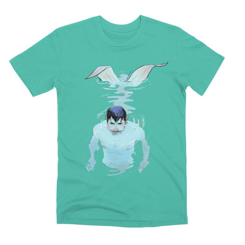Peeping Men's T-Shirt by Ego Rodriguez