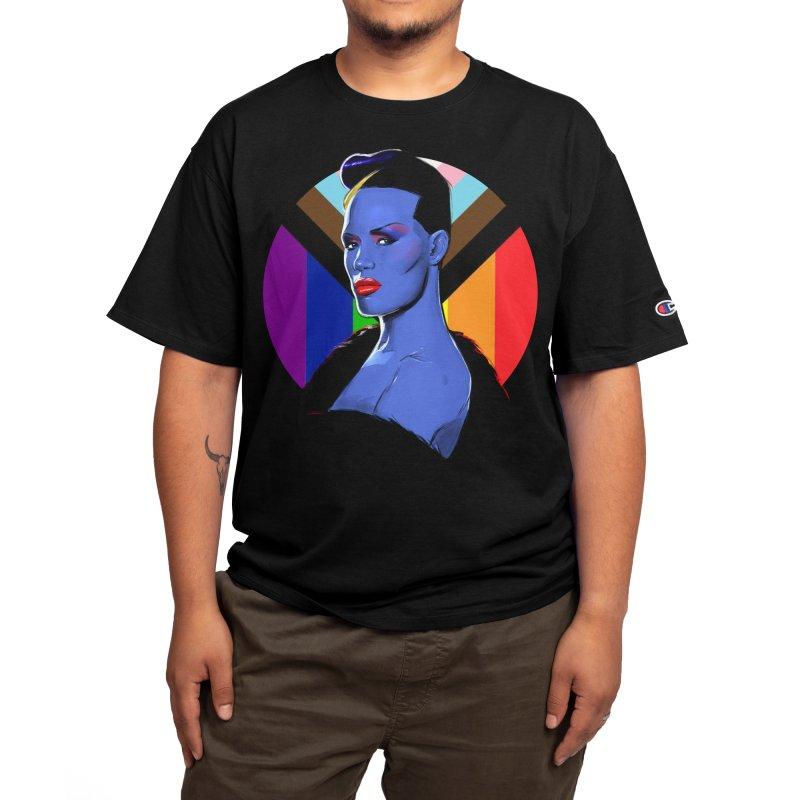 Grace PRIDE Men's T-Shirt by Ego Rodriguez